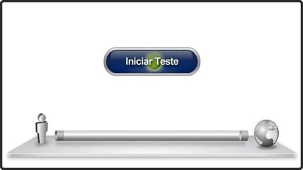 Teste de Velocidade de Internet