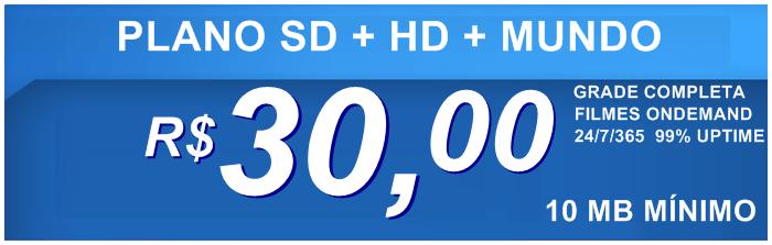 Teste IPTV canais em HD